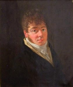 Thomas Dobrée (1781-1828) Portrait réalisé en 1807
