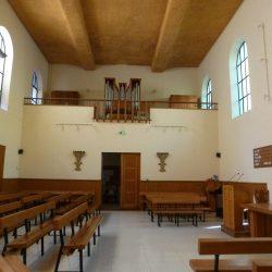 <i>Temple d'Aix-en-Provence – Vue de l'orgue </i>