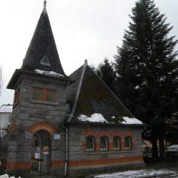 <i>Temple de Gérardmer – vue extérieure à l'hiver 2016</i>