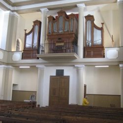 <i>Temple de Saint-jean-du-Gard – L'orgue</i>