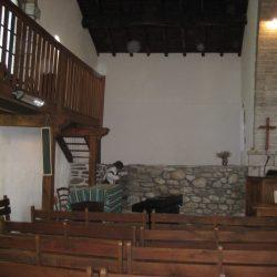 <i> Détail du temple du Collet-de-Dèze – l'autel</i>