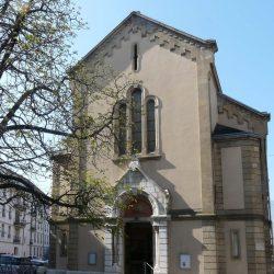 <i>Temple réformé de Grenoble – vue extérieure</i>