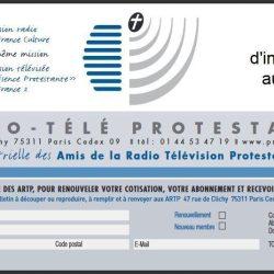Bulletin d'adhésion aux ARTP