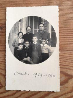 La famille Toureille à Crest en 1939-40