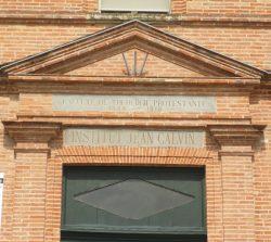 Montauban - Entrée de l'ancienne faculté de théologie protestante (1809-1919)
