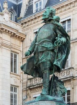 Statue de Jean Guiton à La Rochelle (1585-1654)