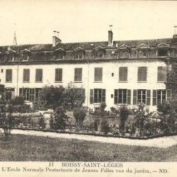 Ecole Normale Protestante de jeunes filles – Boissy-Saint-Léger