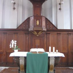 Chaire pastorale du temple Saint-Martin de Montbéliard